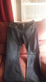Junior Size 15 LEI Ashley lowrise slim bootcut jeans in Dickson, Tennessee