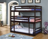 THATS RIGHT!! TRIPLE BUNK BED FREE DELIVERY in Huntington Beach, California
