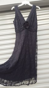 Dress, ladies Black Lace dress, size 8 in Vacaville, California
