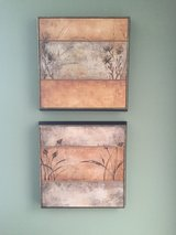Pair of two Bouchet raised canvas prints in Chicago, Illinois