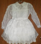 Vintage Girls Size 8 Flower Girl/1st Communion/Confirmation Outfit in DeKalb, Illinois