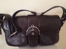 Brown Leather Coach Purse in New Lenox, Illinois