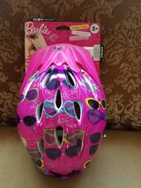 Barbie helmet new 5 + age in Joliet, Illinois