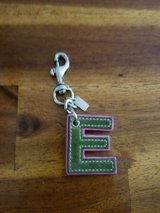 Coach letter E pink green in Naperville, Illinois