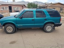 A 1995 GMC S15 4 wheel drive automatic runs and drives in Alamogordo, New Mexico