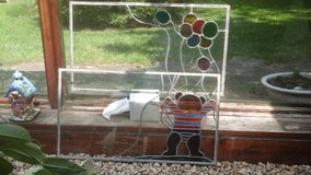 2 pr stained glass windows without frames in Tinley Park, Illinois