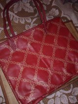 NEW Big Red Purse with Attached Wallet in Alamogordo, New Mexico