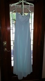 Light teal dress (size 4) in Conroe, Texas
