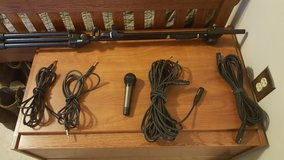 Audio technica Mic and cable set in Beaufort, South Carolina