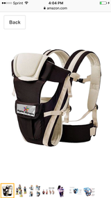 Baby carrier (brighter elements) in Fort Benning, Georgia