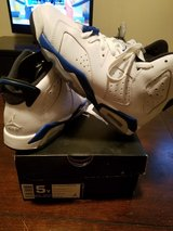 Air Jordan Sport Blue Retro 6 in Manhattan, Kansas