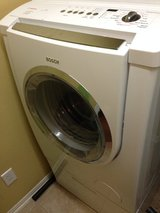 Bosch front loading washer and dryer in Tomball, Texas