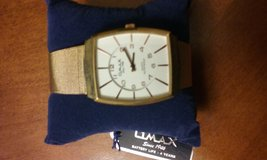 Men's gold-tone watch in Conroe, Texas