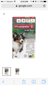 Advantix( Red) 21-55 lbs topical in Baytown, Texas
