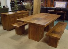 UF - Highlander 100% Solid Acacia Wood Collection – Brand New! in Ramstein, Germany