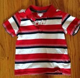 Baby/Toddler boys TougSkins red, white and blue striped short sleeve shirt 3T in Warner Robins, Georgia