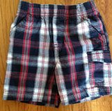 Baby/Toddler Boys ToughSkins red multi color plaid shorts size 2T in Warner Robins, Georgia