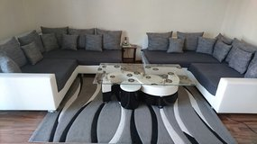 U shaped couch set in Ramstein, Germany