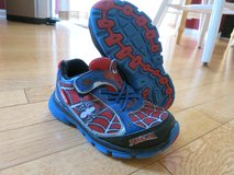 Stride Rite Spiderman Light up shoes 8.5 Wide in Sandwich, Illinois