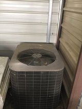 A C unit with heat pump in Houston, Texas