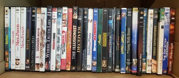 Big lot of 33 DVD's MOVIE in Naperville, Illinois