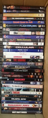 Big lot of 32 DVD's MOVIE in Sugar Grove, Illinois