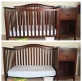 REDUCED: Crib with changing table in Fort Leonard Wood, Missouri