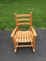 Children's Antique Wooden Rocking Chair in Bolingbrook, Illinois