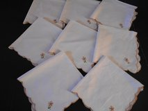 Linen Placemats Set of 8, 16 by 16 in Phoenix, Arizona