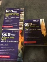 GED Study Books in Fort Carson, Colorado
