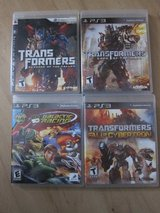 PS3 Playstation  Transformers each $8 and Ben10 $5 in Stuttgart, GE