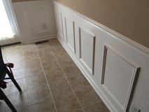 Wainscoting in Fort Campbell, Kentucky
