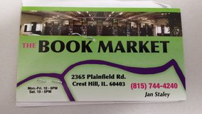 The Book Market Credit Slip in Joliet, Illinois