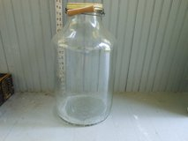 """Vintage Pickle jar with lid and bale.  approx 5 gallons  18"""" tall in Joliet, Illinois"""