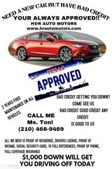 GUARANTEED FINANCING!!! in Lackland AFB, Texas