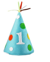 Creative Converting Sweet at One Boys Felt Party Hat, Child Size in Ramstein, Germany