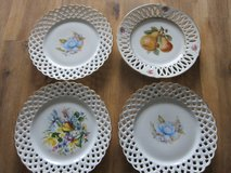 4x Beautiful Porcelain Plates in Stuttgart, GE