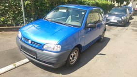 Arizona blue Seat Arosa with new inspection in Baumholder, GE