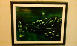 Glow in the Dark Ghost Ship Painting **REDUCED** in Moody AFB, Georgia