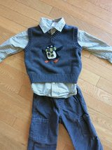 Gymboree 3 piece toddler boy outfit, size 18-24 months in Sandwich, Illinois