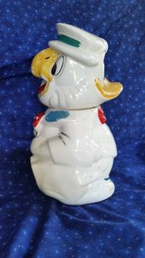 Vintage Disney Turnabout Cookie Jar - Donald Duck & Jose Carioca in Chicago, Illinois