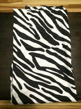 "Set of 2 Black & White Zebra Window Curtains Panels Drapes 52"" x 84"" in Clarksville, Tennessee"