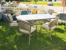 Large Patio Table & 6 Chairs (1983-5) in Camp Lejeune, North Carolina