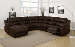 UF - Johnny Leatherette Living Room - Brand New!!! in Baumholder, GE