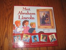 Meet Abraham Lincoln Book - hardcover in Westmont, Illinois