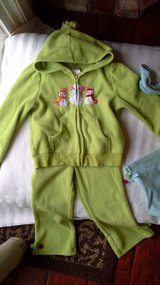 girls 5-6 snowman fleece outfit by gymboree in Vacaville, California