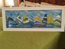 Sailboat painting in Houston, Texas