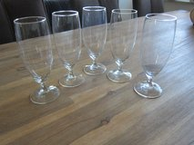 5x Bohemian Crystal Beer Glasses in Stuttgart, GE