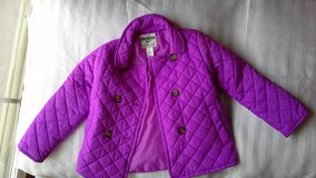 jacket quilted girls size 6 Osh Kosh in Vacaville, California