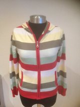 Stripe Zip Up Hoodie in Ramstein, Germany